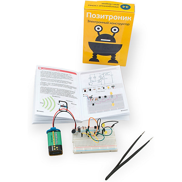 PinLab Конструктор Pinlab Позитроник резистор jantzen superes 10w 10 ohm