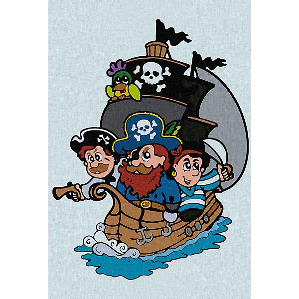 Котеин Картина по номерам Котеин Пиратский корабль