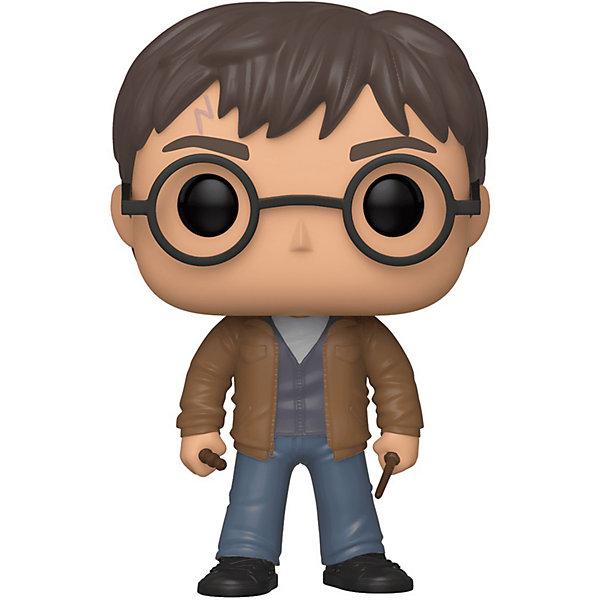 Funko Фигурка Funko POP! Vinyl: Harry Potter Гарри с волшебной палочкой, 47345 harry potter dumbledore teddy potter ron hedwig 4 models 20cm