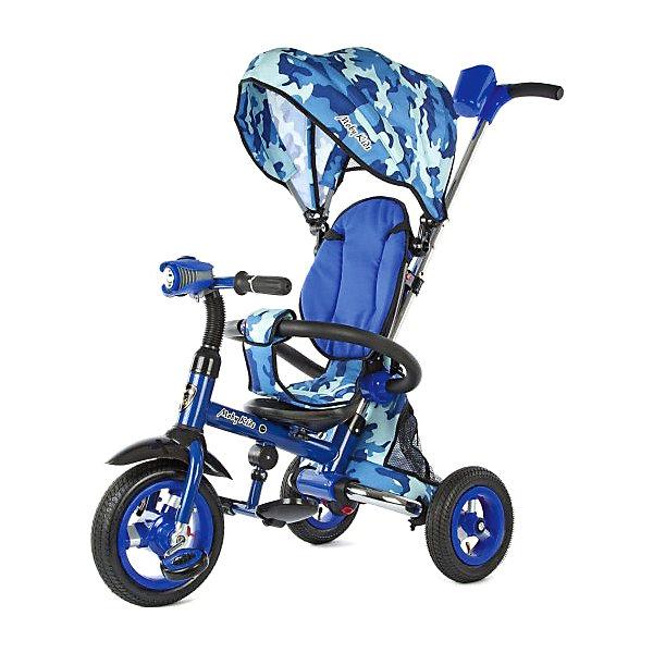 Купить Трёхколёсный велосипед Moby Kids Junior-2, 10х8, Китай, atlantikblau, Унисекс