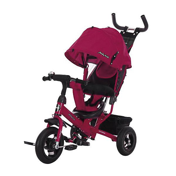 Купить Трёхколёсный велосипед Moby Kids Comfort Air, 10х8, Китай, красный, Унисекс