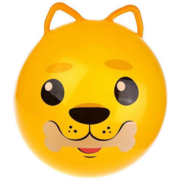 Moby Kids Мяч-прыгун Moby Kids Щенок с ушками, 50 см мяч прыгун жирафик с рис 1300г в ассорт в пак в кор 15шт
