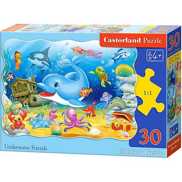 Купить Пазл Castorland Подводные друзья, 30 деталей, Польша, Унисекс