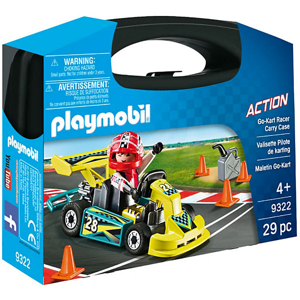 PLAYMOBIL® Конструктор Playmobil Картинг недорого