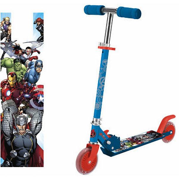1Toy Двухколёсный самокат 1Toy Marvel Мстители 1toy двухколёсный самокат 1toy hot wheels