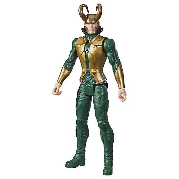 Купить Игровая фигурка Marvel Avengers Герои Титана Локи, 30 см, Hasbro, Китай, разноцветный, Мужской