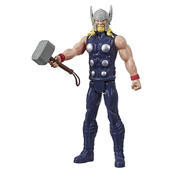 Купить Игровая фигурка Marvel Avengers Герои Титана Тор, 30 см, Hasbro, Китай, разноцветный, Мужской