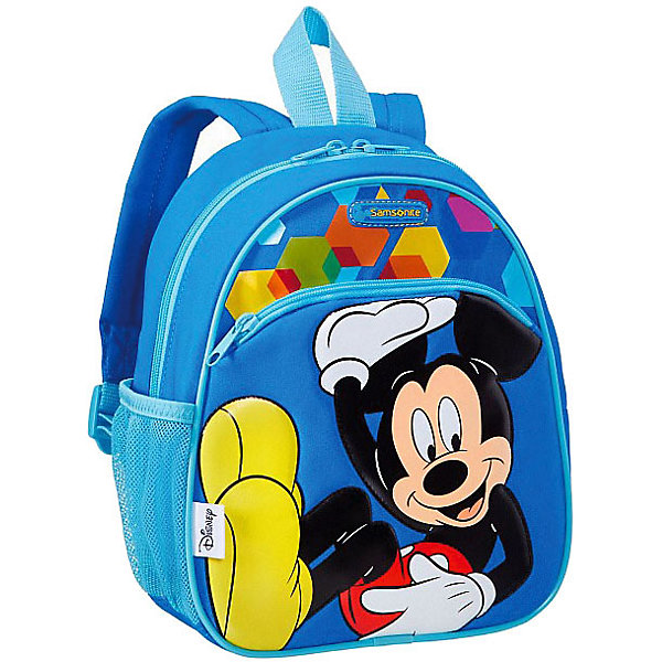 Samsonite Рюкзак Samsonite by Disney Микки чемодан disney by samsonite микки алфавит 43c 11001 4 колесный s до 55 см 28 л