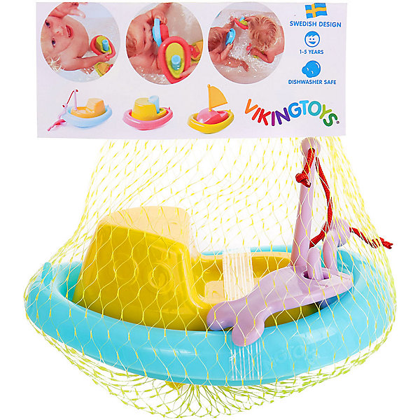 Кораблик Сейнер для ванной Viking Toys