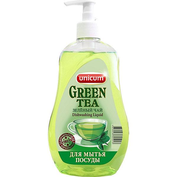 Средство для мытья посуды Unicum Зелёный чай, 550 мл