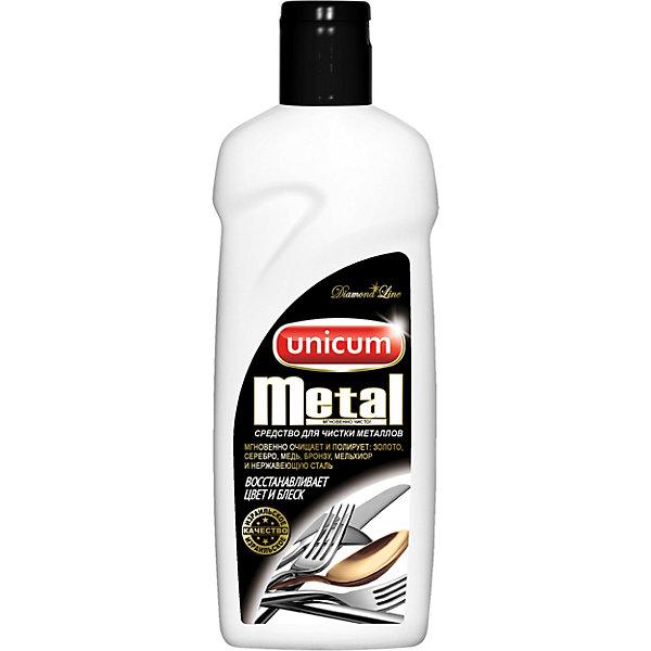 Unicum Средство Unicum Metal для чистки изделий из драгоценных и цветных металлов, 380 мл средство чистящее unicum д изделий из драгоценных и цветных металлов 380мл