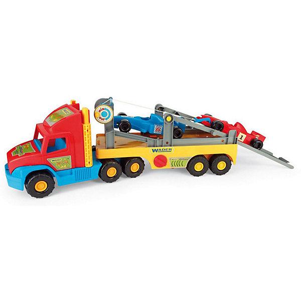 Wader Игровой набор Wader Super Truck Автовоз формула 1 фургон wader super truck 36510 79 см