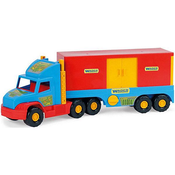 Wader Игровой набор Wader Super Truck Фургон фургон wader super truck 36510 79 см