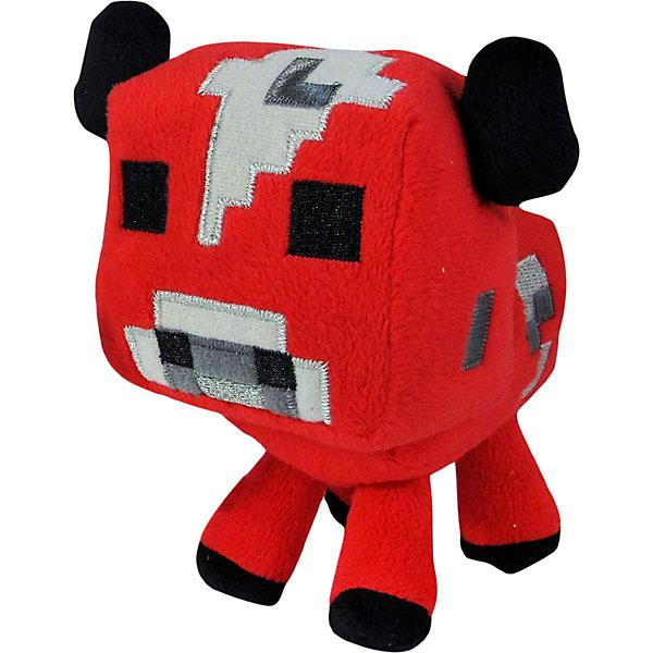 Jazwares Мягкая игрушка Jazwares Minecraft Baby cow Детеныш грибной коровы 18 см мягкая игрушка jinx minecraft детеныш волка 20 см