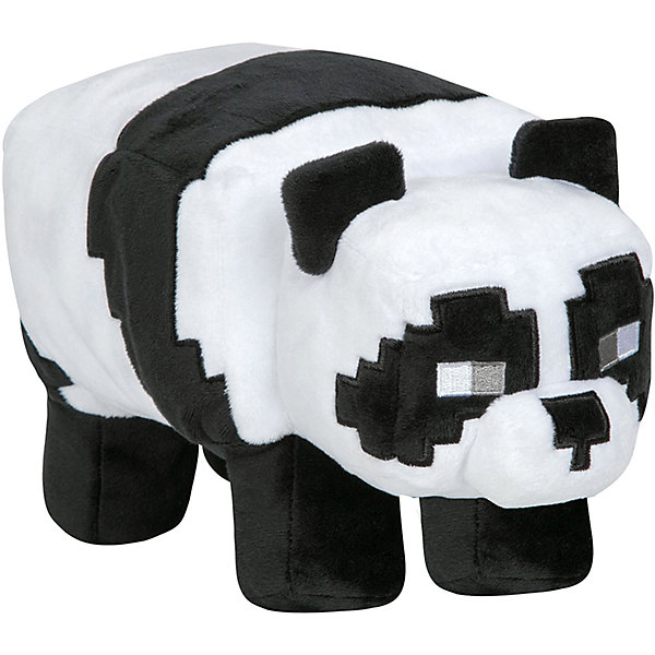 Jinx Мягкая игрушка Jinx Minecraft Panda 30 см мягкая игрушка jinx minecraft детеныш волка 20 см