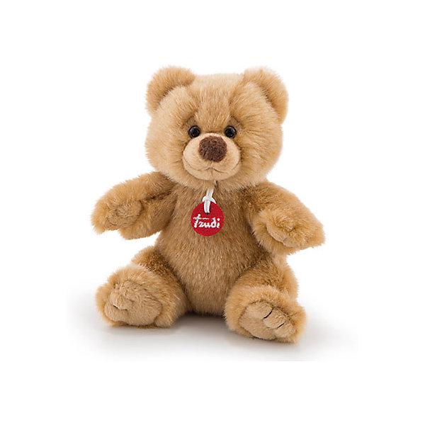 Купить Мягкая игрушка Trudi Мишка Этторе, 15 см, Китай, коричневый, Унисекс