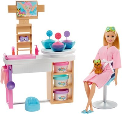 """Картинка для Barbie Игровой набор Barbie """"Мода"""" Спа-салон"""