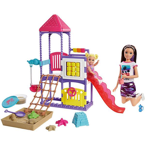 """Игровой набор Barbie """"Семья"""" Скиппер с малышом на игровой площадке Mattel Игровой набор Barbie """"Семья"""" Скиппер с малышом на игровой площад"""
