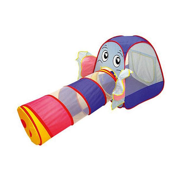 Игровая палатка с туннелем Наша Игрушка Слонёнок