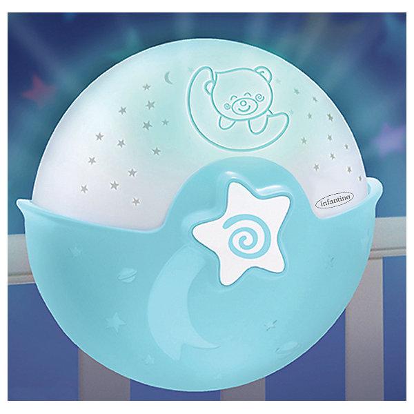 Купить Ночник-проектор Infantino, Infantino BKids, Китай, голубой, Унисекс