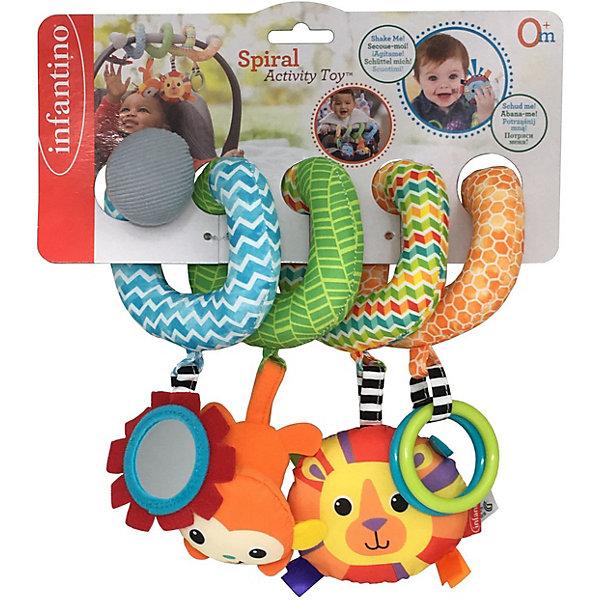 Купить Развивающая игрушка Infantino Спиралька, Infantino BKids, Китай, оранжевый, Унисекс