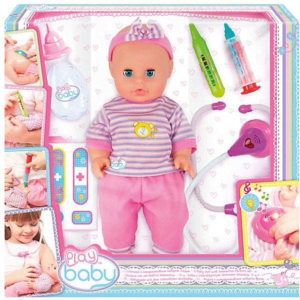 Play Baby Кукла-пупс Набор доктора