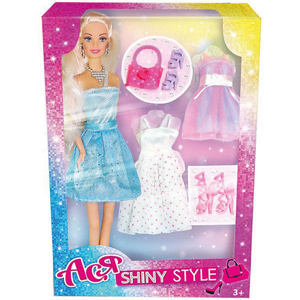 Toys Lab Кукла Toys Lab Блестящий выход Ася, 28 см