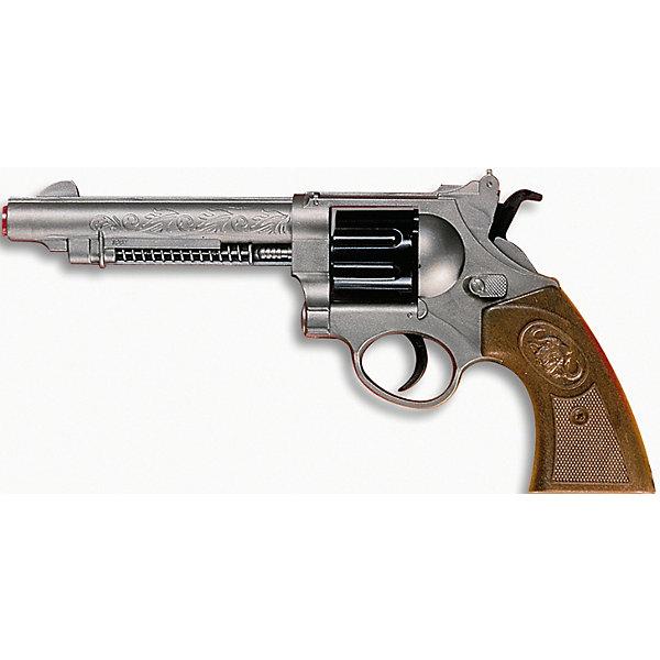 Edison Пистолет Edison Western-Line West Colt, 28 см пистолет edison с мишенями и пульками western line west colt 28 см пульки