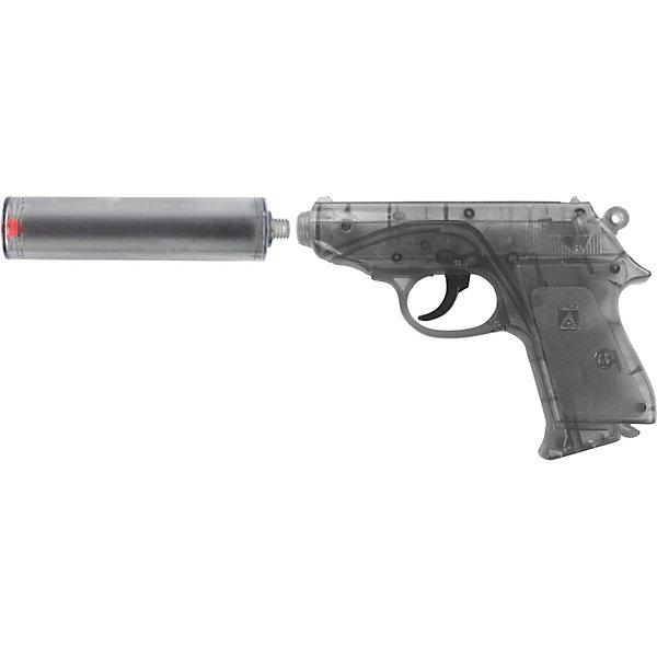 Купить Пистолет Sohni-Wicke Специальный Агент PPK, Таиланд, серый, Мужской