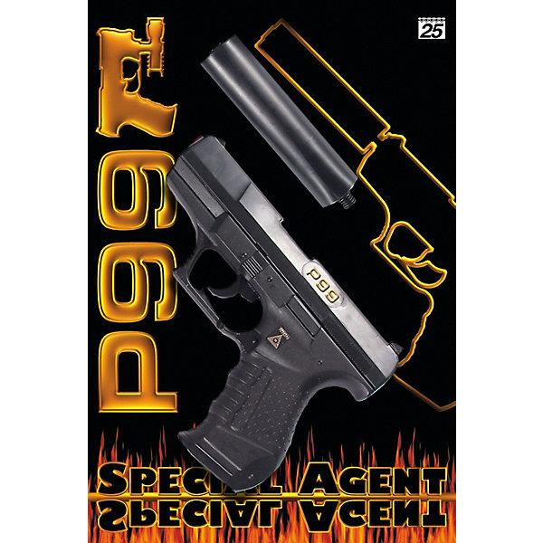 Фото - Sohni-Wicke Пистолет Sohni-Wicke Special Agent P99, 29,8 см игрушечное оружие sohni wicke пистолет texas rapido 8 зарядные gun western 214mm