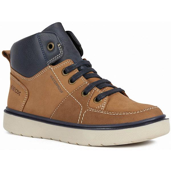 GEOX Утепленные ботинки Geox ботинки geox geox ge347amfslt7