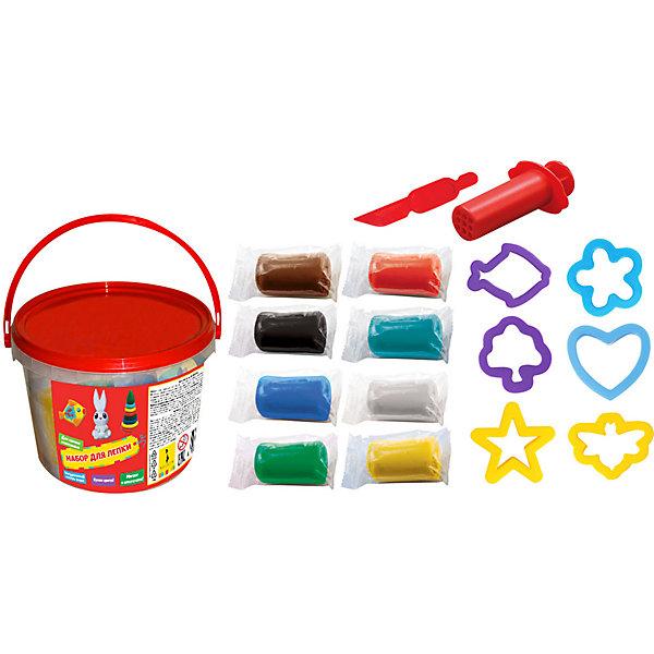 Купить Набор для лепки Rosman, Росмэн, Россия, разноцветный, Унисекс