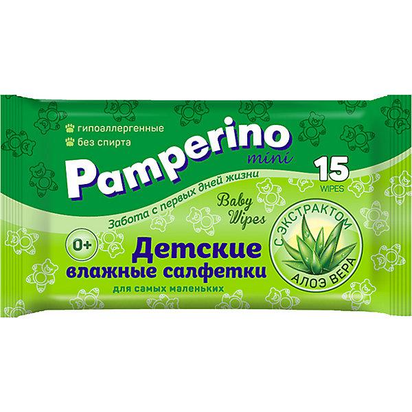 Влажные салфетки Pamperino Mini №15