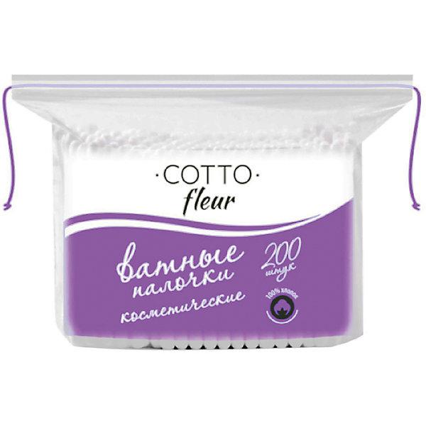 Cotto Ватные палочки Cotto Fleur, 200 шт