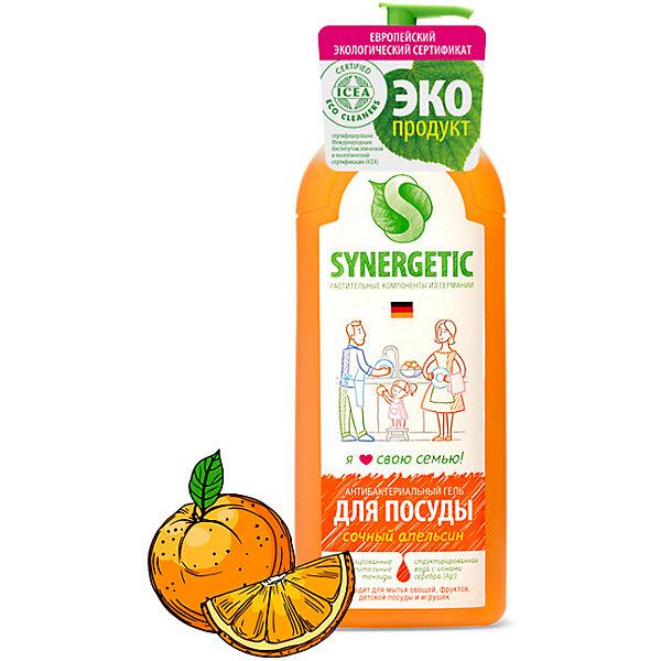 Средство для мытья посуды Synergetic Сочный апельсин,1