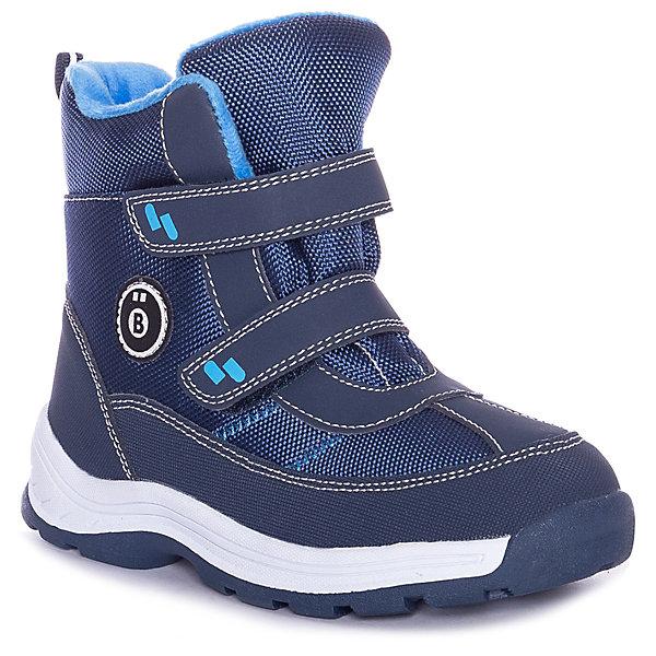 Купить Утеплённые ботинки BJÖRKA, Китай, синий, 27, 40, 36, 35, 34, 39, 33, 38, 32, 31, 37, 30, 29, 28, Мужской