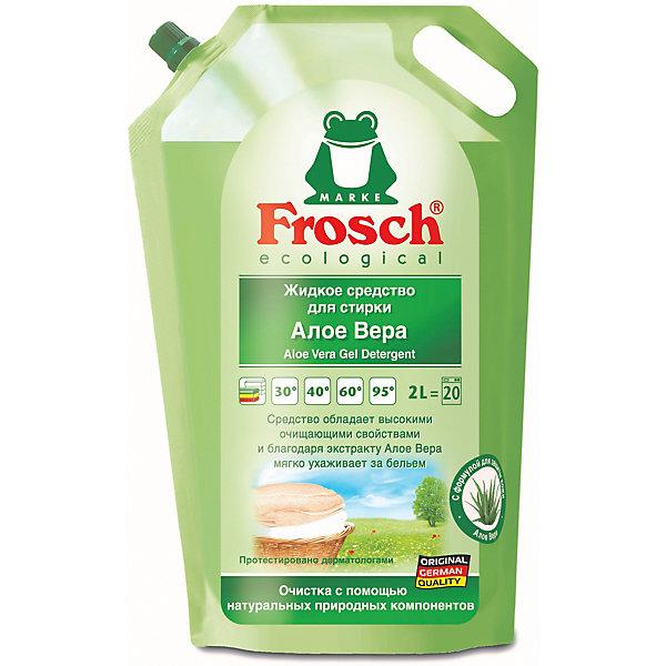 Купить Жидкое средство для стирки Frosch Алоэ Вера, 2 л, Германия, Унисекс