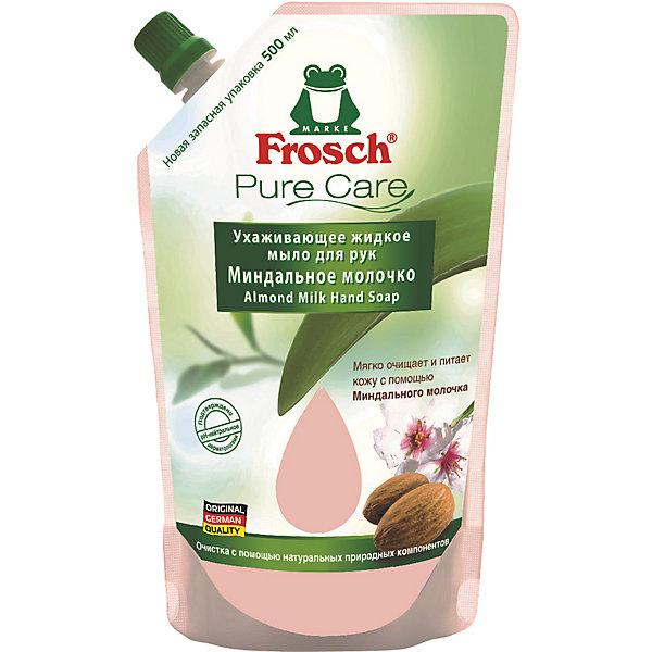 Жидкое мыло для рук Frosch Миндальное молочко,