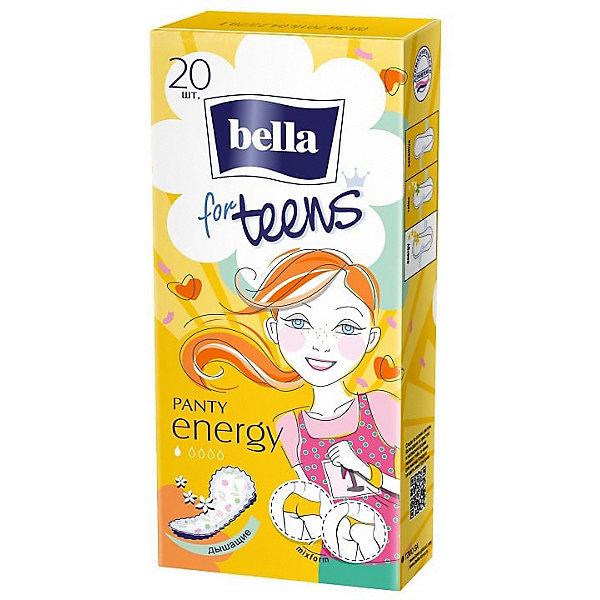 Ежедневные прокладки Bella For Teens Energy deo экстратонкие, 20 шт