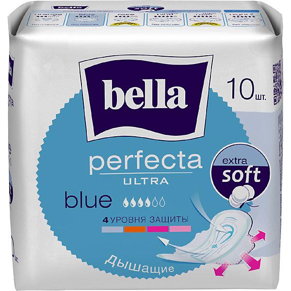 Картинка для Прокладки Bella Perfecta Ultra Blue супертонкие, 10 шт, new design