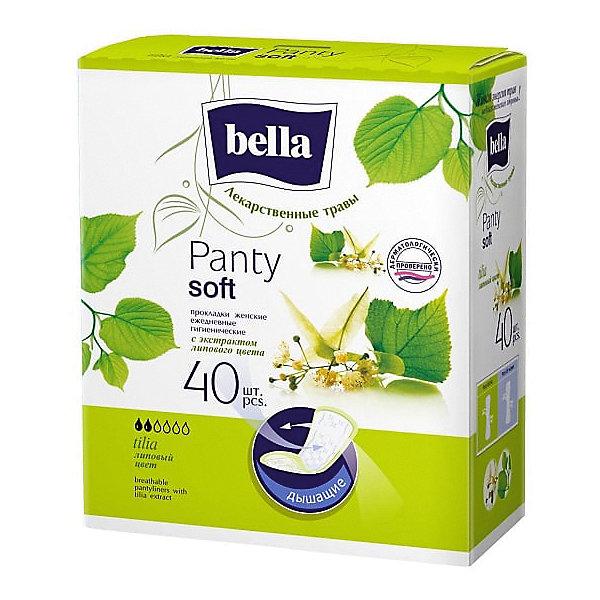 Ежедневные прокладки Bella Panty Herbs Tilia с экстрактом липового цвета, 40 шт по цене 95