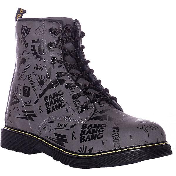 Купить Утепленные ботинки Mursu, Китай, черный/серый, 30, 37, 31, 32, 33, 34, 35, 36, Мужской