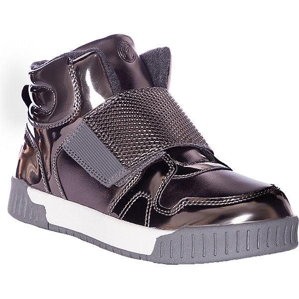 Купить Утепленные ботинки Mursu, Китай, серебряный, 31, 32, 33, 34, 35, 30, Женский