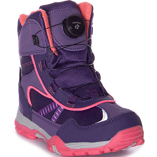 Купить Утепленные ботинки Mursu, Китай, фиолетово-розовый, 30, 35, 34, 33, 32, 31, Женский