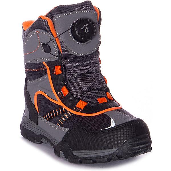 Купить Утепленные ботинки Mursu, Китай, черный/серый, 30, 35, 34, 33, 32, 31, Мужской
