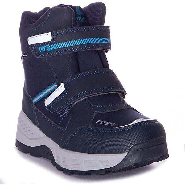 Утепленные ботинки Mursu, Китай, синий, 33, 32, 31, 30, 35, 34, Мужской  - купить со скидкой