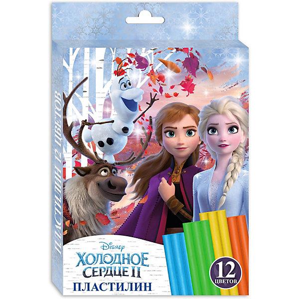 CENTRUM Пластилин Centrum Disney Холодное сердце, 12 цветов наборы для творчества росмэн набор аппликаций disney холодное сердце 5 картинок