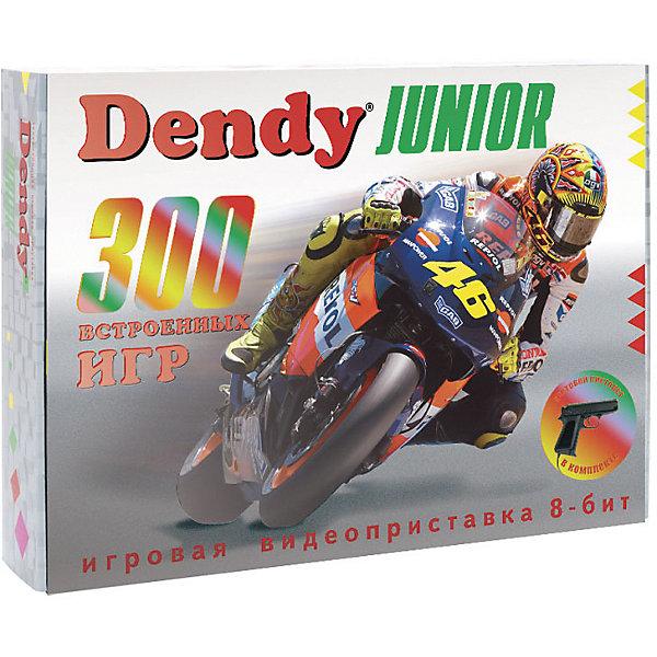 Фото - Dendy Игровая приставка Dendy Junior с пистолетом, 300 игр игровая приставка dendy kids black 195 игр