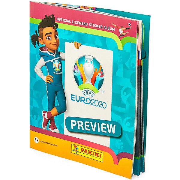 Купить Альбом для наклеек Panini EURO 2020 PREVIEW, Россия, разноцветный, Мужской