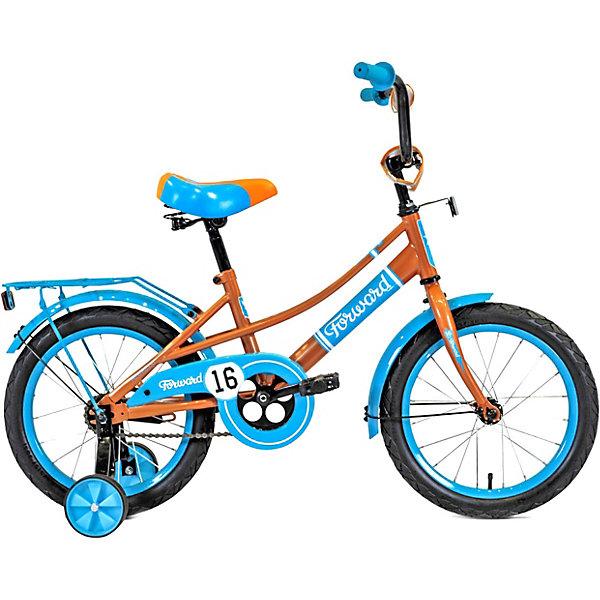 Фото - Forward Двухколесный велосипед Forward Azure 16 велосипед forward racing 16 girl compact 2015